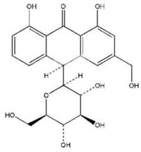 Chemical Structure: Aloin