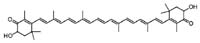 Chemical Structure: Astaxanthin