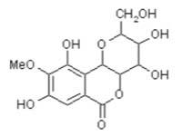 Chemical Structure: Bergenin