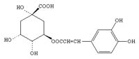 Chemical Structure: Caffeic acid